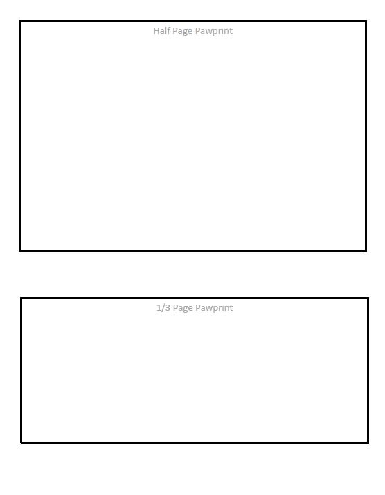 pawprint template 2