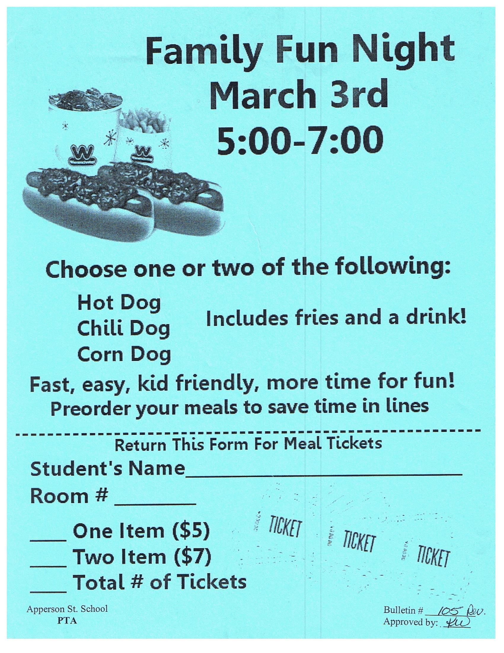 FFN hot dog tickets 2016