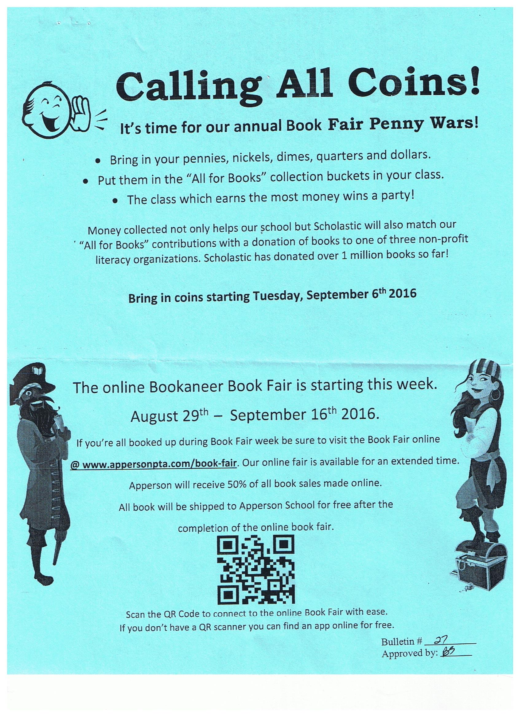 book fair penny war